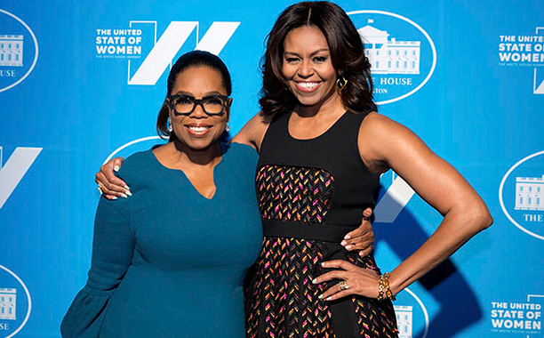 ALL CROPS: FIRST LADY MICHELLE OBAMA SAYS FAREWELL TO THE WHITE HOUSE – AN OPRAH WINFREY SPECIAL