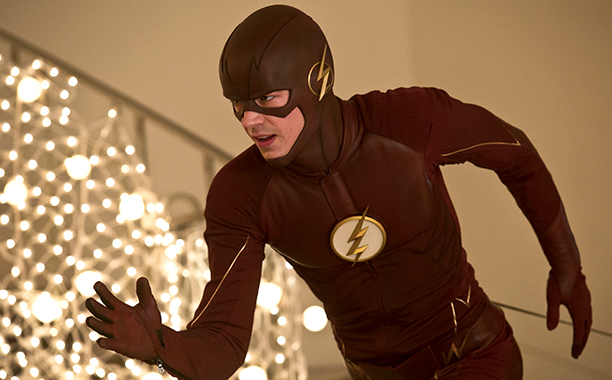 "GALLERY: TV's Time Obsession: The Flash -- ""Potential Energy"" Pictured: Grant Gustin as The Flash"