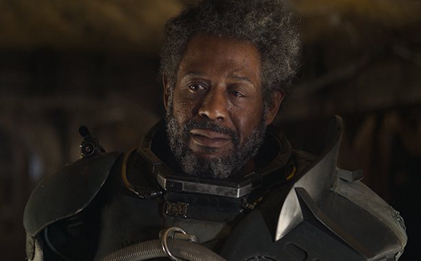 ALL CROPS: Rogue One: A Star Wars Story..Saw Gerrera (Forest Whitaker)..Ph: Film Frame ILM/Lucasfilm..© 2016 Lucasfilm Ltd. All Rights Reserved.