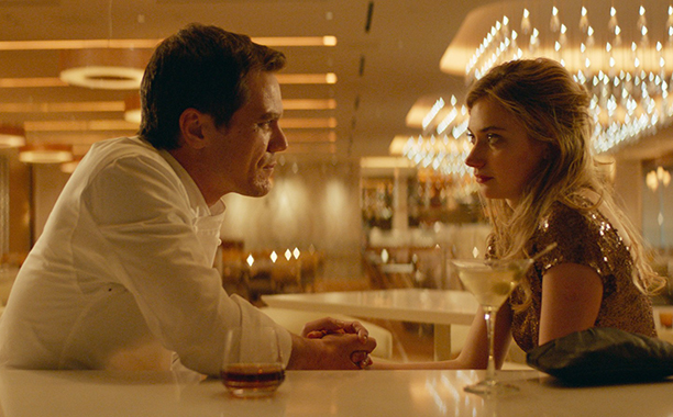 ALL CROPS: FRANK & LOLA, from left: Michael Shannon, Imogen Poots, 2016. ph: Eric Koretz / © Paladin / Courtesy Everett Collection