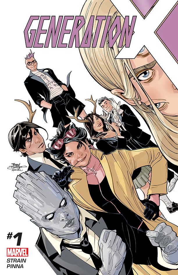 NO CROPS: Generation X Cover CR: Marvel