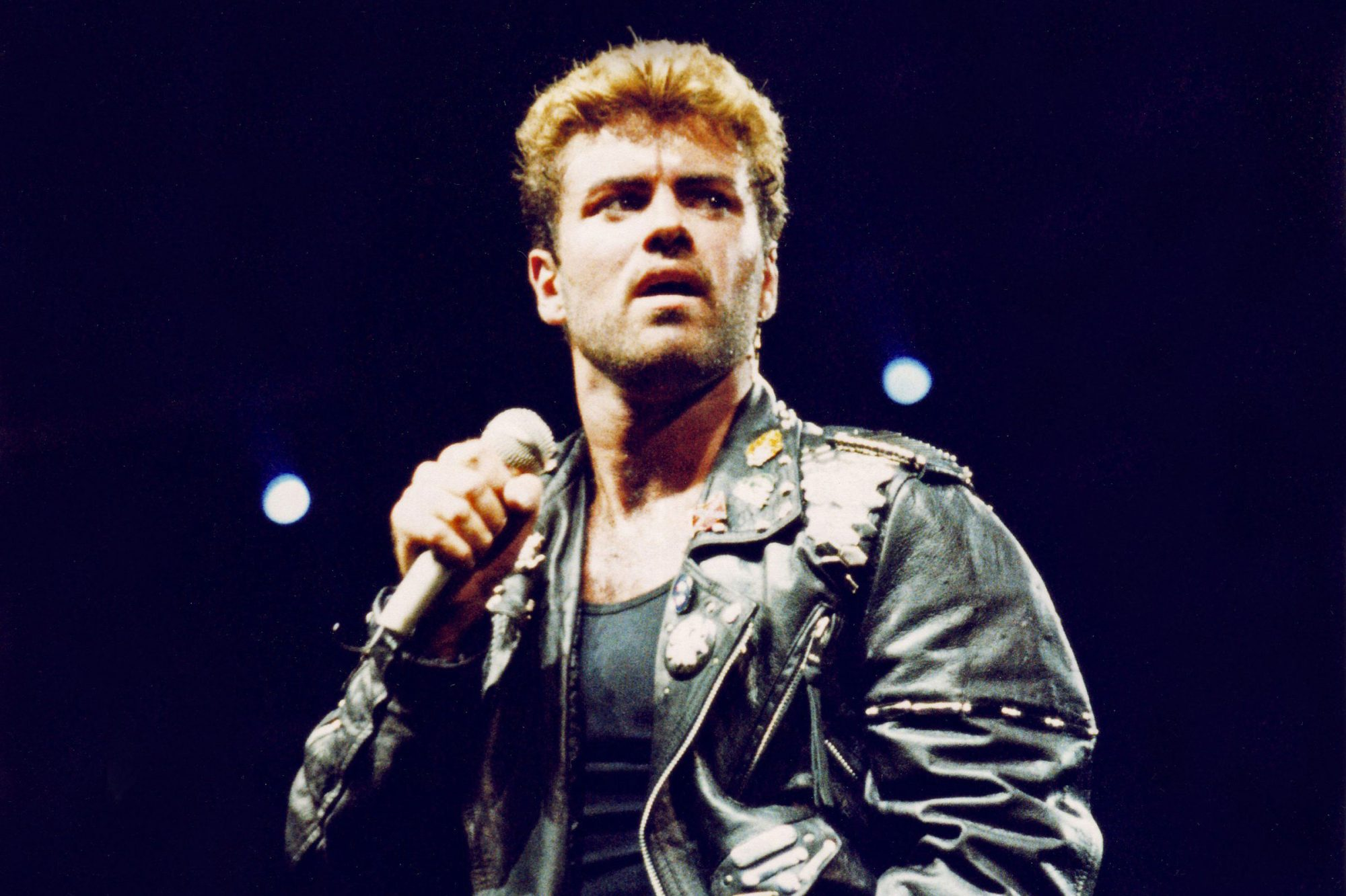 George Michael Performs At Earls Court In 1988