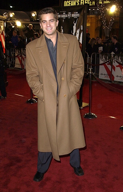 """GALLERY: 'Ocean's Eleven' Premiere: GettyImages-102908564.jpg Joshua Jackson during World Premiere of """"Ocean's Eleven"""" at Mann's Village Theatre in Westwood, California, United States"""