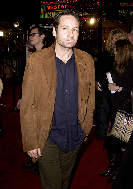 """GALLERY: 'Ocean's Eleven' Premiere: GettyImages-103264402.jpg David Duchovny during World Premiere of """"Ocean's Eleven"""" at Mann's Village Theatre in Westwood, California, United States"""