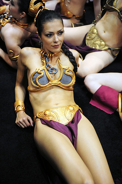 Adrianne Curry as Princess Leia