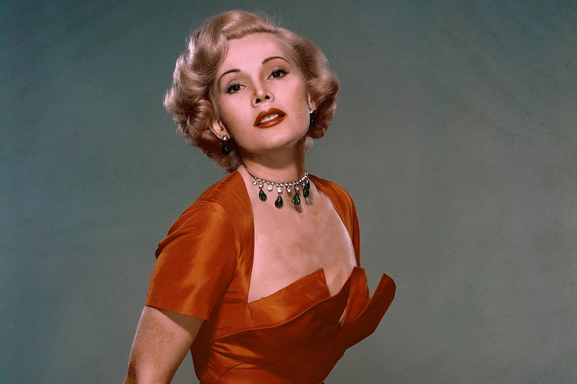 Zsa Zsa Gabor Around 1950-1955