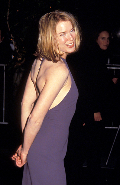 GALLERY: 'Jerry Maguire' Premiere: GettyImages-104730138.jpg Renee Zellweger during 'Jerry Maguire ' New York City Premiere at Pier 88 in New York City, New York, United States.