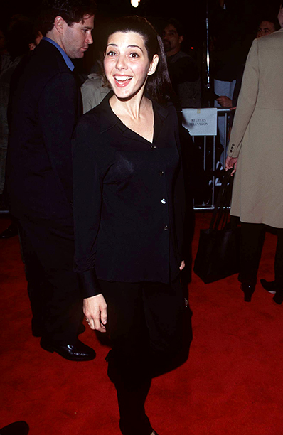 GALLERY: 'Jerry Maguire' Premiere: GettyImages-104839044.jpg Marisa Tomei during 'Jerry Maguire' Los Angeles Premiere at Mann Village Theatre in Los Angeles, California, United States.