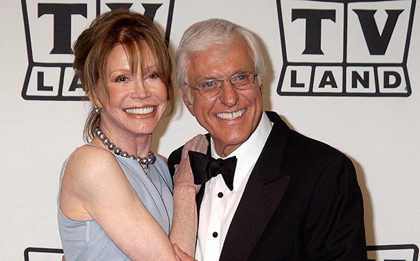 Mary Tyler Moore With Dick Van Dyke at the TV Land Awards on March 2, 2003