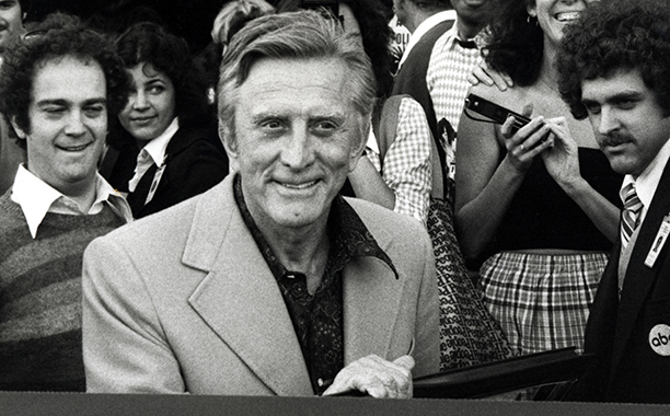 GALLERY: Kirk Douglas Through the Years: GettyImages-105402630.jpg Kirk Douglas during Kirk Douglas Leaving Academy Awards Rehearsals - April 12, 1978
