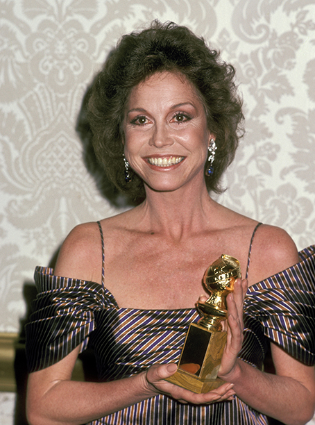 Mary Tyler Moore at the 38th Annual Golden Globe Awards on January 31, 1981