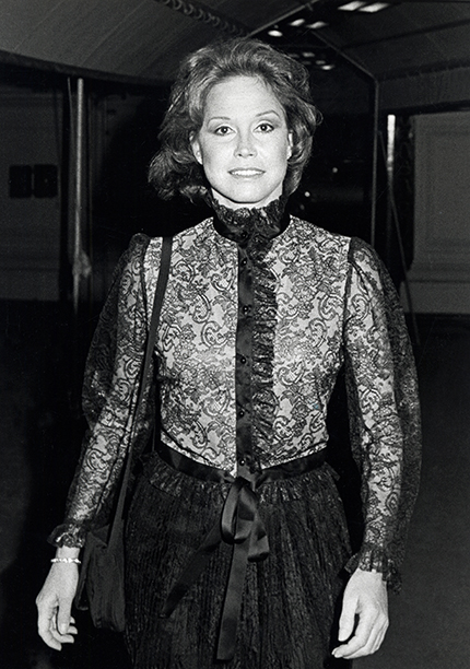 Mary Tyler Moore in New York City on October 9, 1980