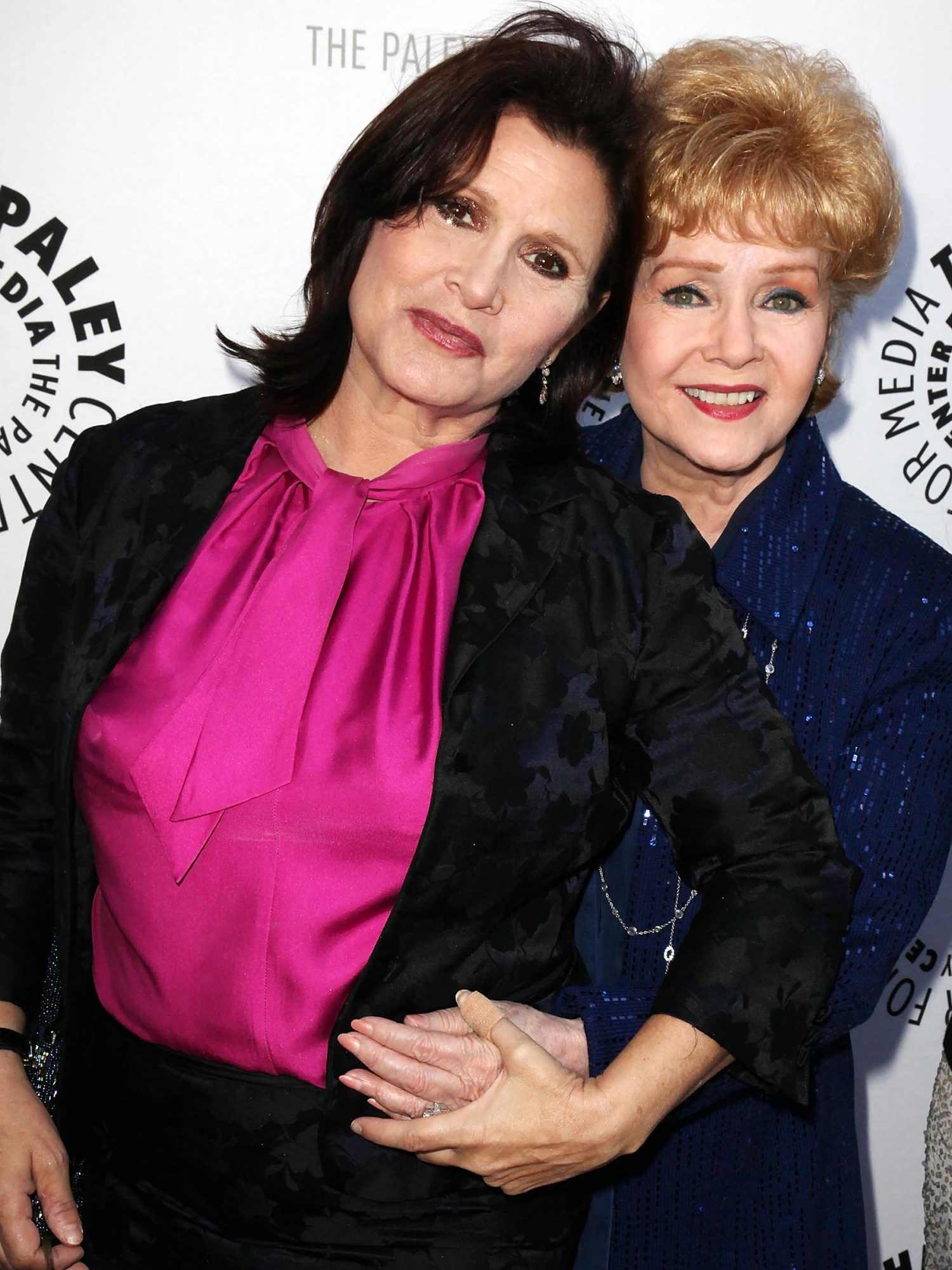 Carrie Fisher and Debbie Reynolds at the Paley Center in Beverly Hills, 2011