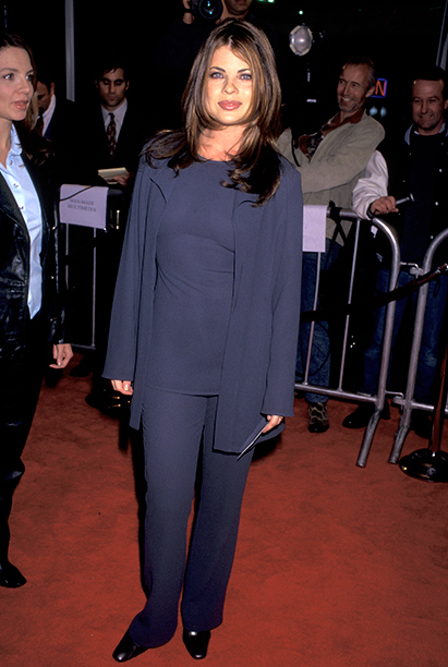 GALLERY: 'Jerry Maguire' Premiere: GettyImages-139924737.jpg Yasmine Bleeth at the Premiere of 'Jerry Maguire', Mann Village Theatre, Westwood. (Photo by Ron Galella/WireImage)