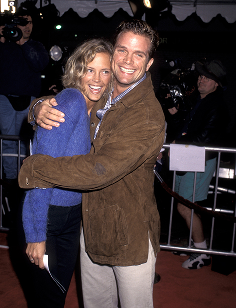 GALLERY: 'Jerry Maguire' Premiere: GettyImages-140421103.jpg Erin Bartlett and David Chokachi at the Premiere of 'Jerry Maguire', Mann Village Theatre, Westwood. (Photo by Ron Galella/WireImage)
