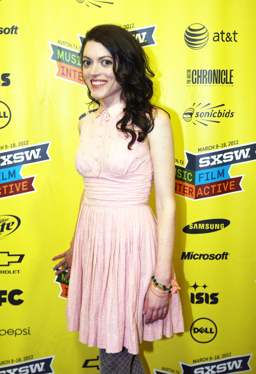 No Crops: 141158232 Collection: WireImage AUSTIN, TX - MARCH 11: Actress Hannah Fierman attends the V/H/S Photo Op during the 2012 SXSW Music, Film + Interactive Festival on March 11, 2012 in Austin, Texas. (Photo by Hutton Supancic/WireImage)