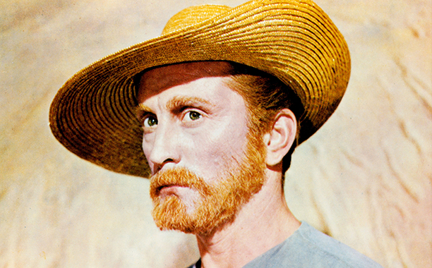 GALLERY: Kirk Douglas Through the Years: GettyImages-161060353.jpg Kirk Douglas poses for a portrait in a scene from the film 'Lust For Life', 1956.