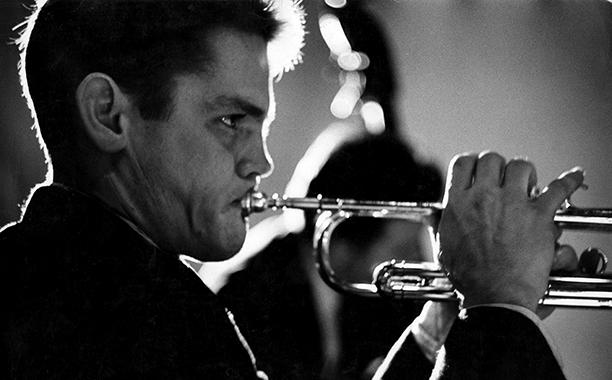 GALLERY: La La Land influences: GettyImages-162890398.jpg American jazz musician Chet Baker (1929 - 1988) as he plays trumpet, New York, New York, 1957