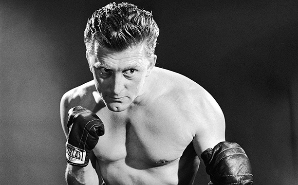 GALLERY: Kirk Douglas Through the Years: GettyImages-166893420.jpg American actor Kirk Douglas in a promotional portrait for 'Champion', directed by Mark Robson, 1949.