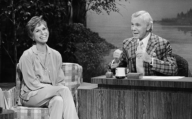Mary Tyler Moore on The Tonight Show Starring Johnny Carson on November 3, 1978