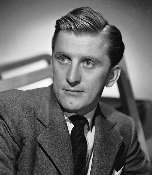 GALLERY: Kirk Douglas Through the Years: GettyImages-3170163.jpg circa 1945: American actor Kirk Douglas, who portrayed artist Vincent Van Gogh in 'Lust for Life'.