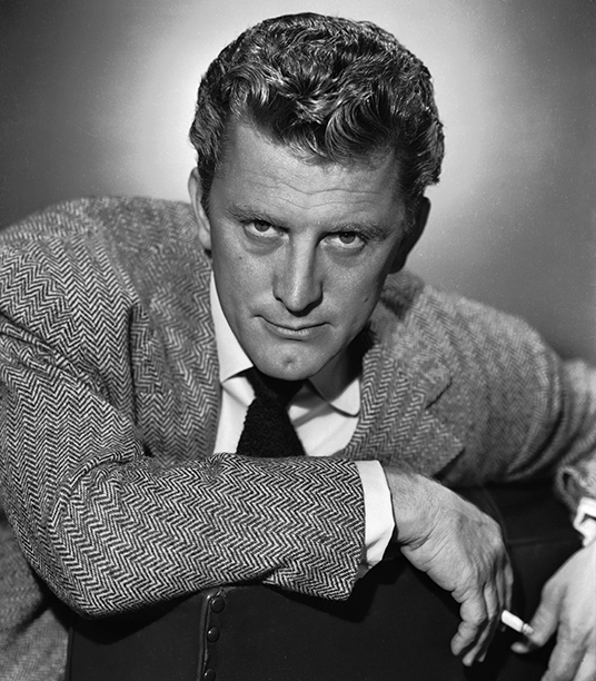 GALLERY: Kirk Douglas Through the Years: GettyImages-3170167.jpg 1946: American actor Kirk Douglas, the charismatic star of 'Lust for Life', 'The Vikings' and 'Spartacus'.