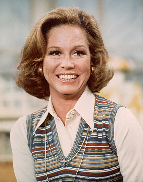 Mary Tyler Moore on The Mary Tyler Moore Show in 1977