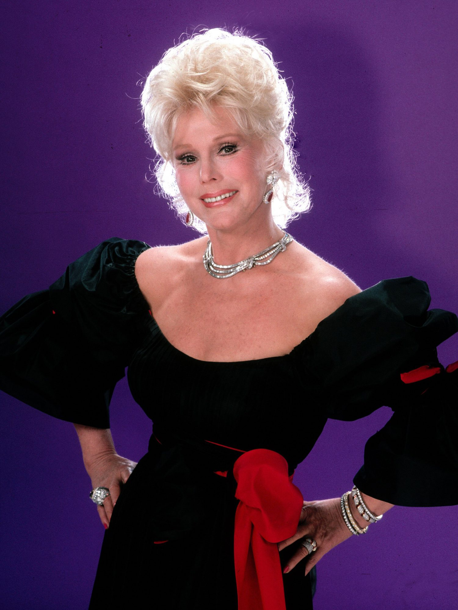 Zsa Zsa Gabor Portrait Session