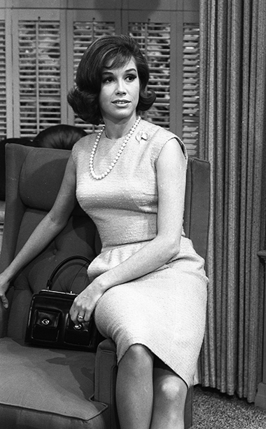 Mary Tyler Moore in Rehearsal for The Dick Van Dyke Show on December 2, 1963