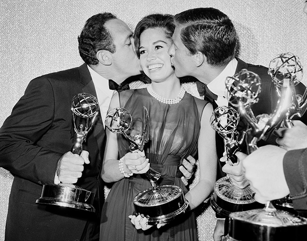 Mary Tyler Moore at the Emmy Awards in 1962