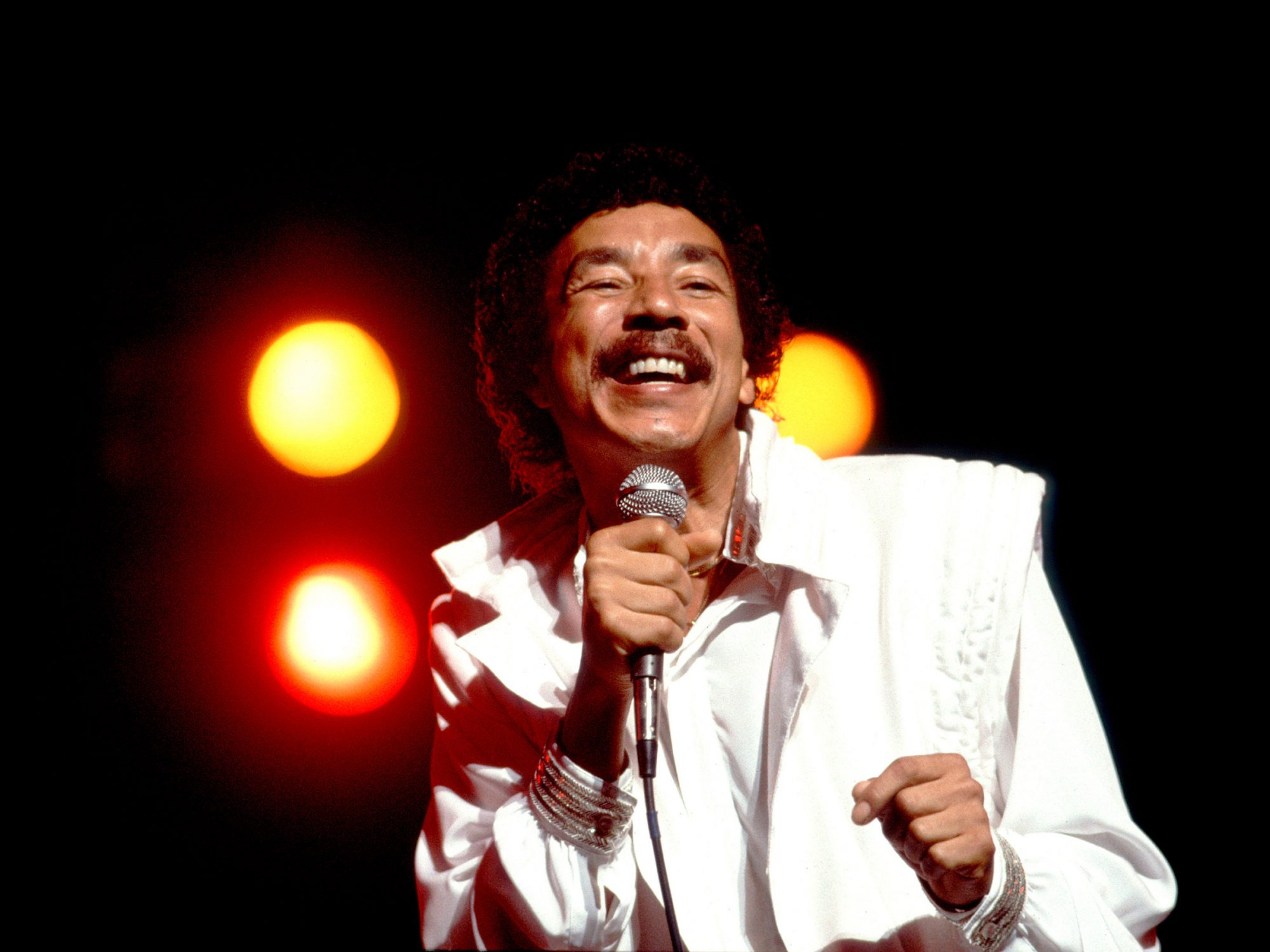 Smokey Robinson On Stage