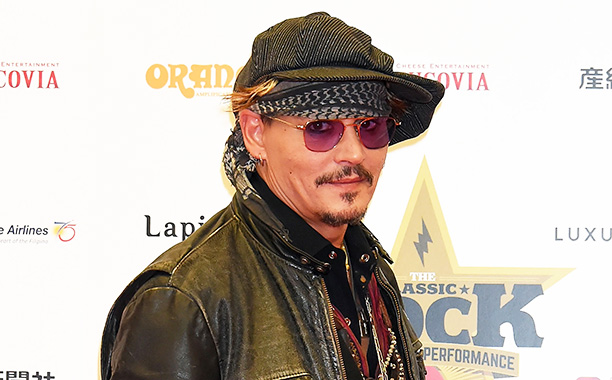 All Crops: 622346690 Collection: WireImage TOKYO, JAPAN - NOVEMBER 11: Johnny Depp attends the red carpet for the Classic Rock Awards at Ryogoku Kokugikan on November 11, 2016 in Tokyo, Japan. (Photo by Jun Sato/WireImage)