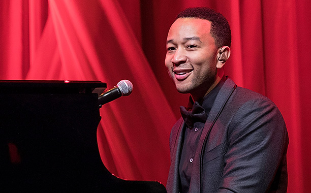 All Crops: 624325414 Collection: WireImage AUSTIN, TX - NOVEMBER 18: Singer-songwriter John Legend performs onstage during the 11th Annual Andy Roddick Foundation Gala at ACL Live on November 18, 2016 in Austin, Texas. (Photo by Rick Kern/WireImage)