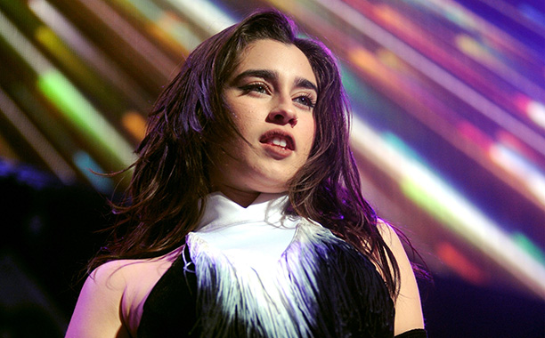 All Crops: 627945144 Collection: Getty Images Entertainment ST PAUL, MN - DECEMBER 05: Lauren Jauregui of the music group Fifth Harmony performs onstage during 101.3 KDWB's Jingle Ball 2016 presented by Capital One at Xcel Energy Center on December 5, 201