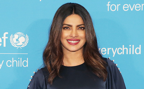 All Crops: 629477624 Collection: FilmMagic NEW YORK, NY - DECEMBER 12: Actress and UNICEF India National Ambassador, Priyanka Chopra attends the UNICEF's 70th Anniversary Event at United Nations Headquarters on December 12, 2016 in New York City. (Photo b