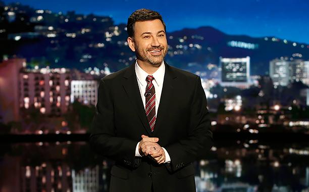 "ALL CROPS: 629512034 JIMMY KIMMEL LIVE - ""Jimmy Kimmel Live"" (Randy Holmes/ABC via Getty Images)"