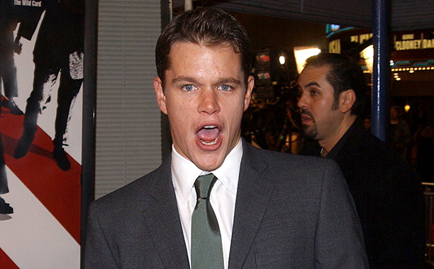 GALLERY: 'Ocean's Eleven' Premiere: GettyImages-675545.jpg Matt Damon attends the premiere of the film 'Ocean's Eleven' December 5, 2001 in Los Angeles, CA. (Photo by Vince Bucci/Getty Images)