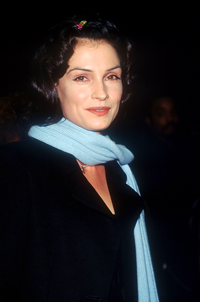 GALLERY: 'Jerry Maguire' Premiere: GettyImages-785589.jpg Famke Janssen attends the premiere of the film 'Jerry Maguire' at Pier 88 December 6, 1996 in New York City.