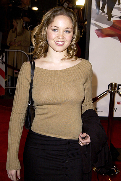 """GALLERY: 'Ocean's Eleven' Premiere: GettyImages-81826759.jpg Erika Christensen at the premiere of """"Ocean's Eleven"""" at the Village Theater in Los Angeles, Ca. Wednesday, December 5, 2001"""