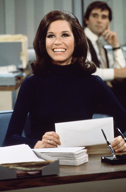 Mary Tyler Moore on The Mary Tyler Moore Show in 1970