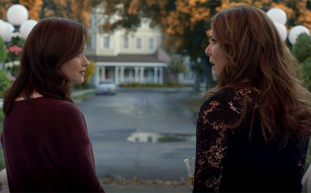 ALL CROPS: Lauren Graham filmed multiple reactions to final four words - Gilmore Girls