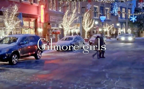 ALL CROPS: screengrab Gilmore Girls: A Year in the Life Intro