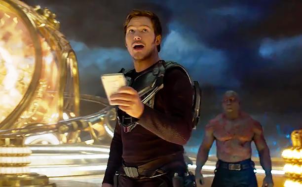 ALL CROPS: Guardians of the Galaxy Vol. 2 Teaser James Gunn (screen grab) CR: Marvel