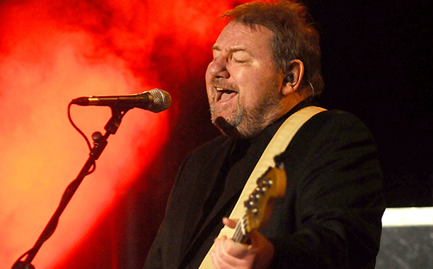 ALL CROPS: 157535924 English musician and author Greg Lake performs in solo his concert 'Songs of a Lifetime' at Auditorium Manzoni on December 2, 2012 in Bologna, Italy. (Photo by Roberto Serra - Iguana Press/Redferns via Getty Images)