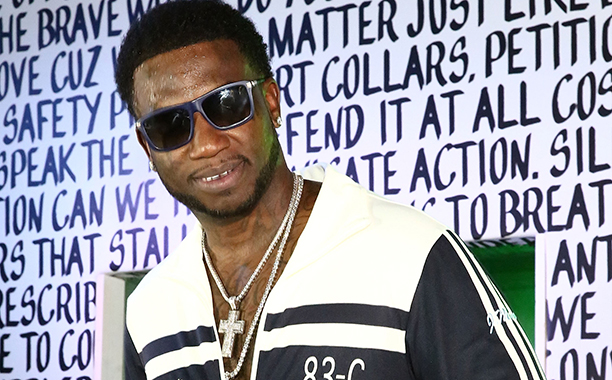 ALL CROPS: 627244620 Rapper Gucci Mane performs at Public School And The Confidante Present WNL Radio at The Confidante on December 2, 2016 in Miami Beach, Florida. (Photo by Astrid Stawiarz/Getty Images for The Confidante