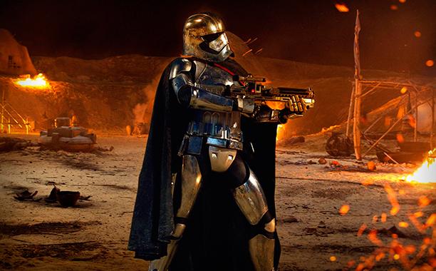 ALL CROPS: Star Wars: Force Awakens (2015) Captain Phasma (Gwendoline Christie)