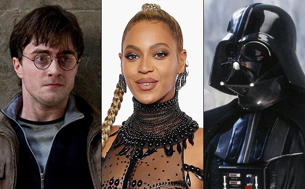 All Crops: Harry Potter Beyonce Darth Vader Split