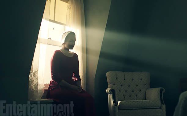 ALL CROPS: Handmaid's Tale Elisabeth Moss stars as 'Offred'