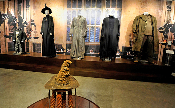 ALL CROPS: GALLERY: A view from J.K. ROWLING'S WIZARDING WORLD: The Harry Potter and Fantastic Beasts Exhibit at Warner Bros. Studio Tour Hollywood at Warner Bros. Studios on December 7, 2016 in Burbank, California. (Photo by John Sciulli/Getty Images fo