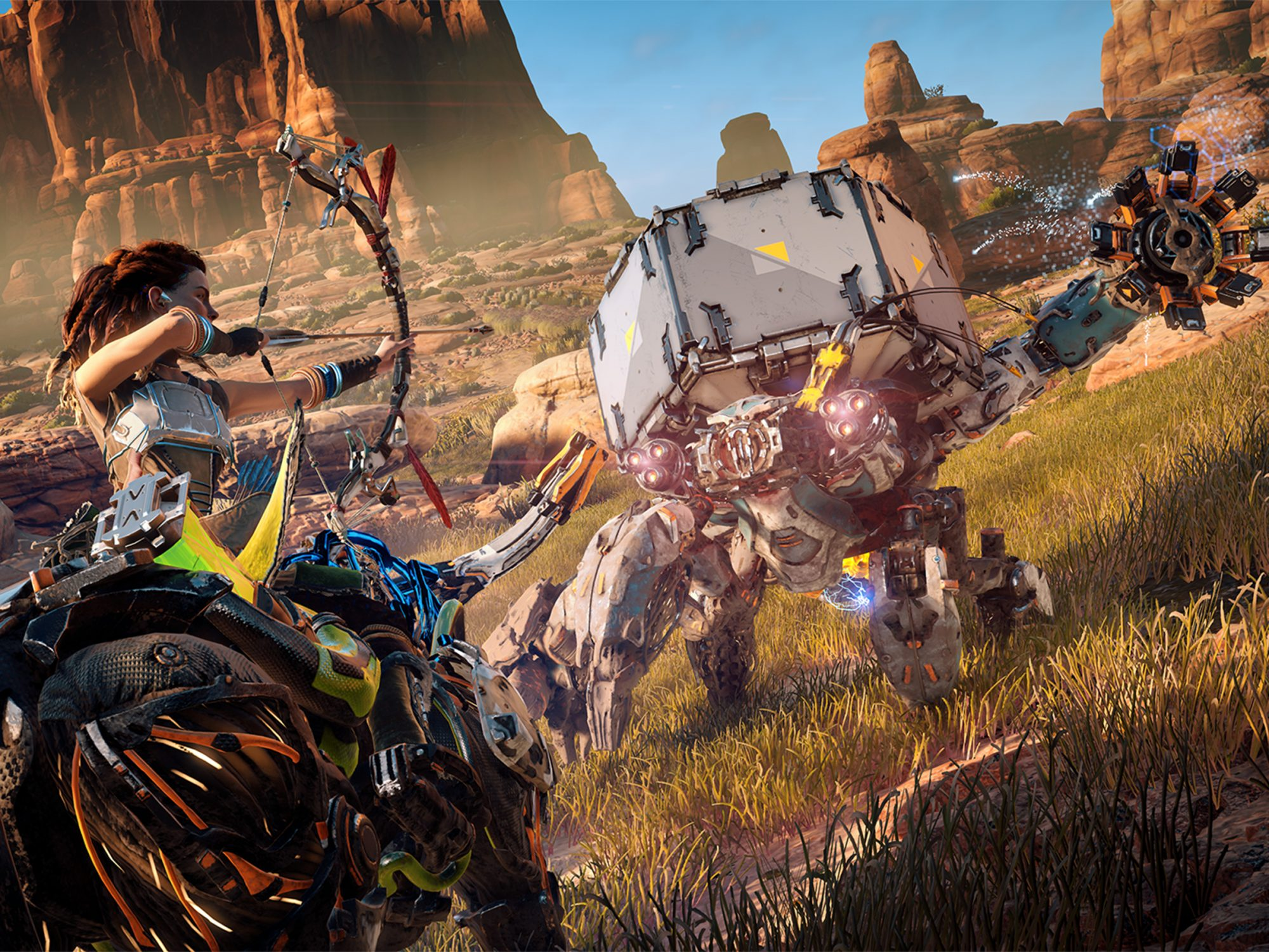 3. Horizon Zero Dawn (PS4; February 28)